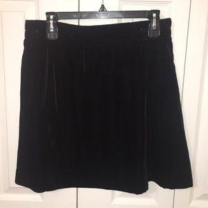 LOFT Velvet Mini-Skirt